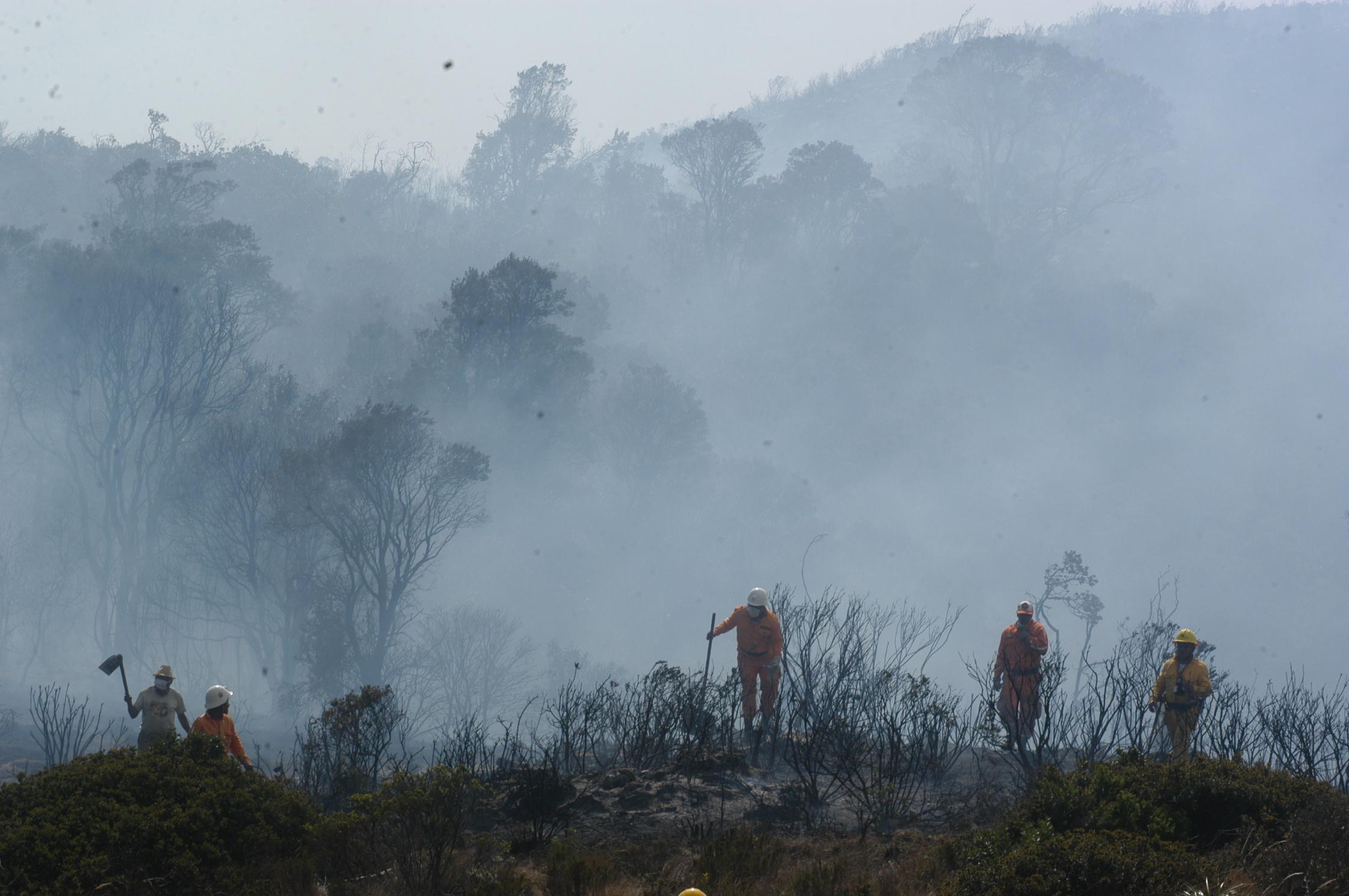 Alertas en varios municipios de Boyacá por incendios forestales y deslizamientos