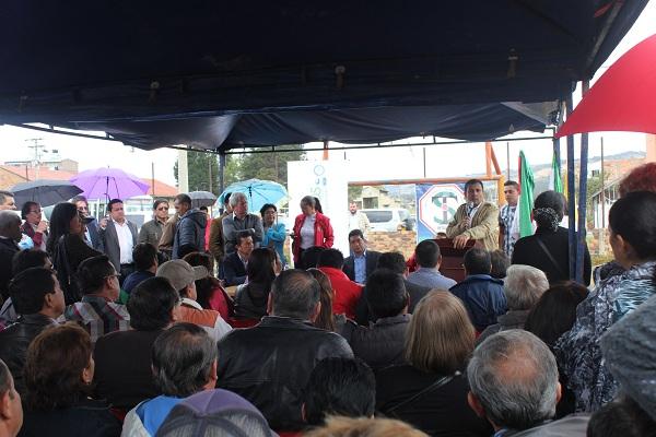 Juan Carlos Granados, gobernador de Boyacá, socializó en Sogamoso alcances del Contrato Plan
