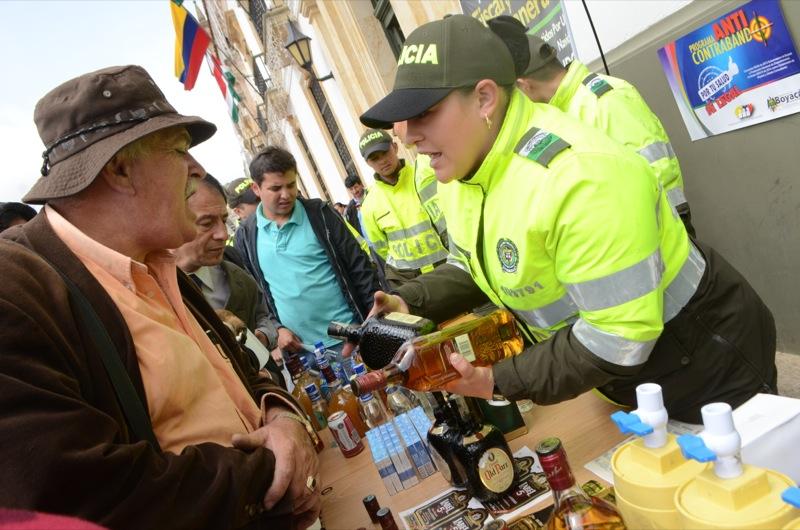 Se realizó el lanzamiento del Plan Nacional del programa Anticontrabando en Boyacá