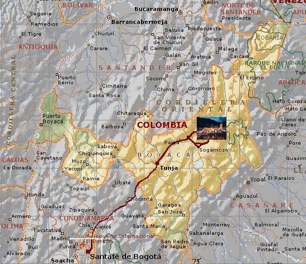 Boyacá actualizará su cartografía a escala 1:10.000