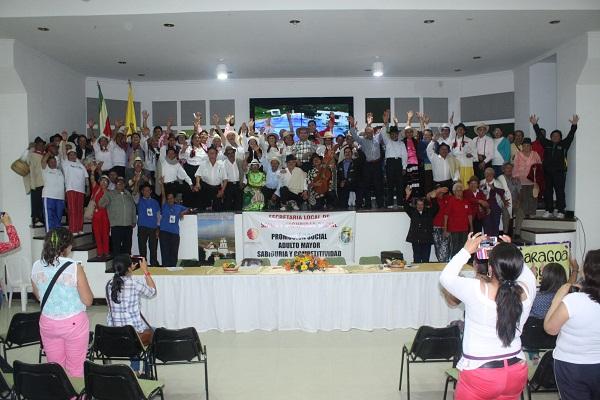 Inició XV Encuentro Departamental Cultural y Recreativo del Adulto Mayor