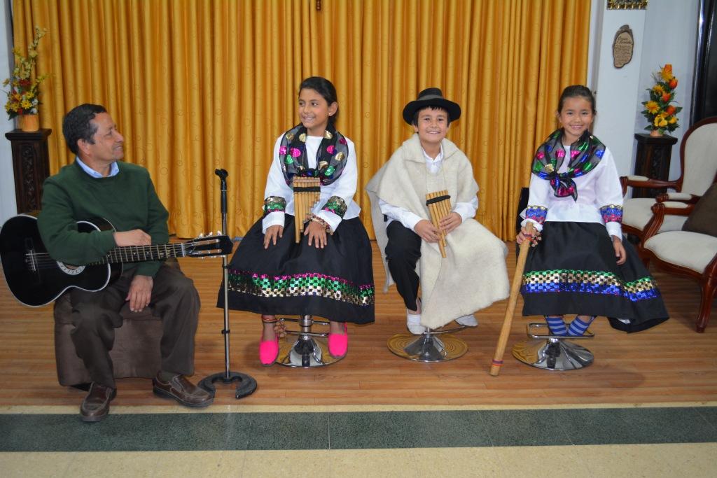 Agrupación musical Sonidos de la Naturaleza de Chinavitá demostró su Talento para el FIC 2014