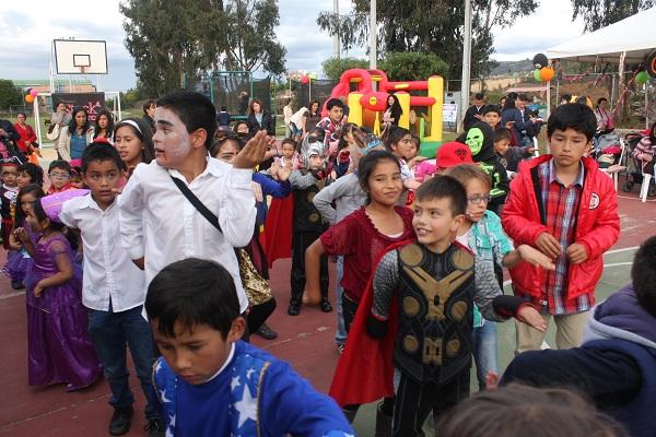 Niños y niñas de la Administración Central celebraron su día