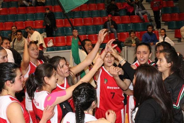 Selección femenina de baloncesto de Boyacá clasificada a Juegos Nacionales 2015