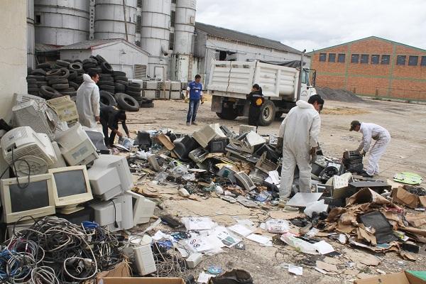 Éxito en campaña de recolección de residuos pos consumo