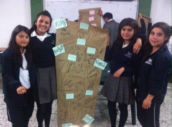 Estudiantes de Institución Educativa participaron en la sensibilización de control social