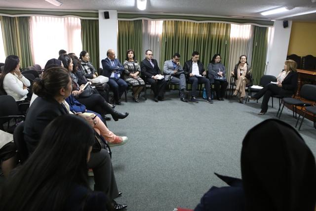 Primer encuentro provincial de previsión y prevención a la infracción penal en adolescentes