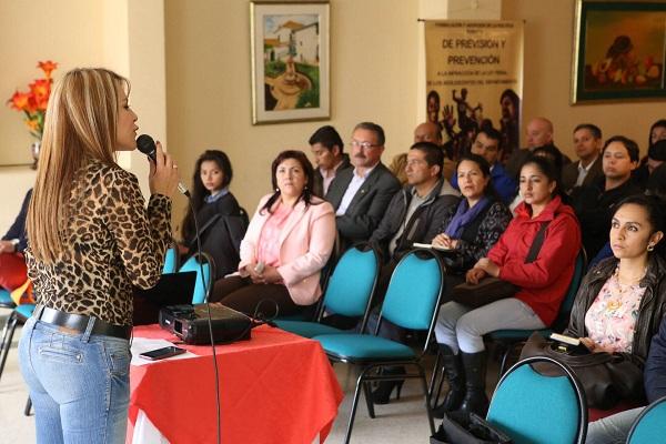 """""""Nosotros vamos a dejar formulado, ahora la tarea es implementar acciones"""", Natalia Medina"""