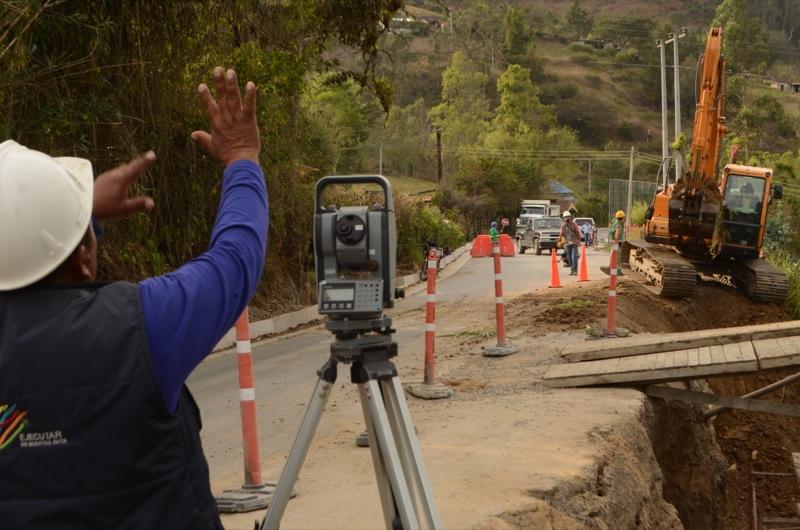 Comisión técnica inspeccionó corredor vial Puente Camacho - Las Juntas