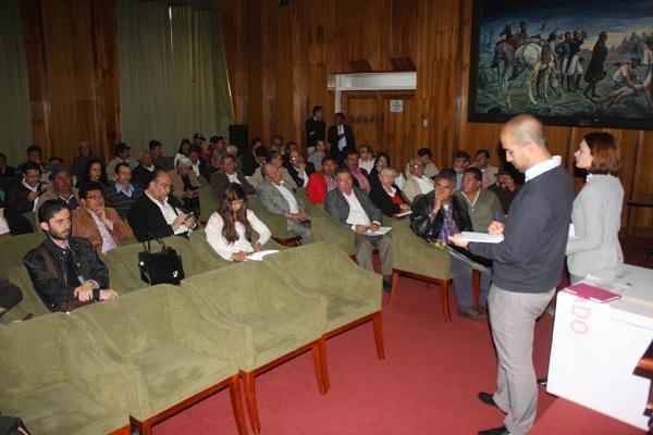 Productores aportaron propuestas al Parque Tecnológico Agroindustrial de Boyacá