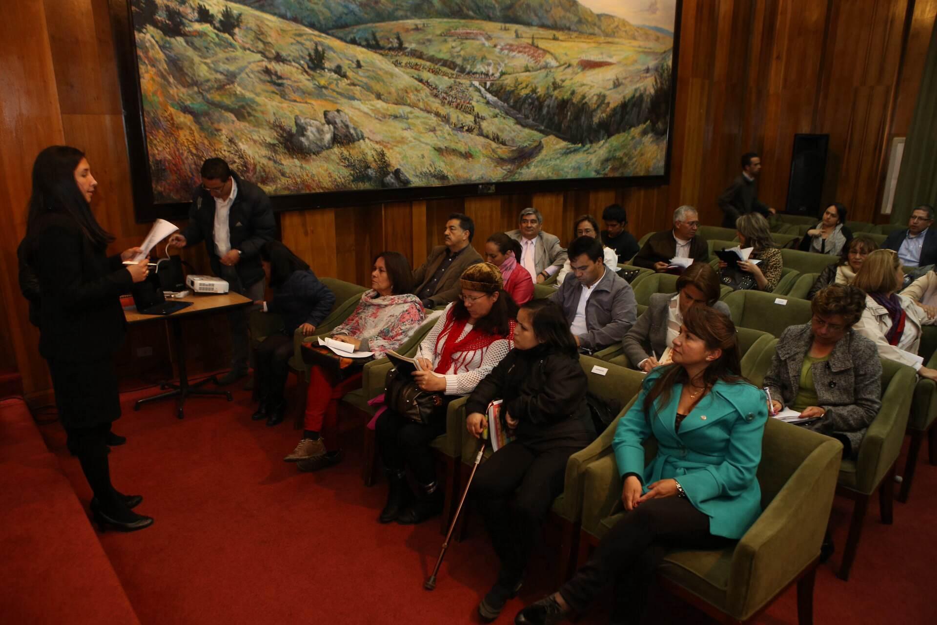 Sesionó comité Departamental de Discapacidad