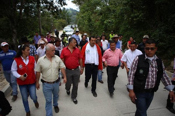 Alcalde de Santa María agradece apoyo del Gobierno Departamental al desarrollo de la región