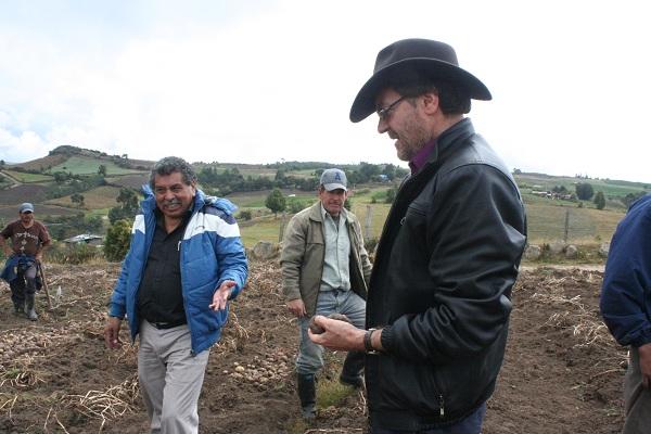 Boyacá presentó proyecto para darle competitividad a la papicultura
