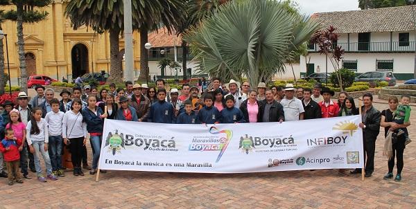 INFIBOY visitó el municipio de Jenesano