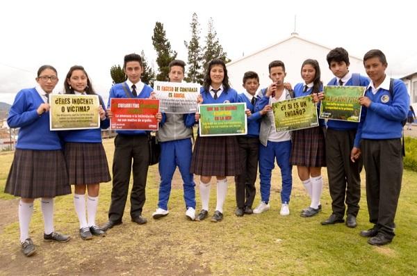 'Jóvenes responsables y activos en el internet' capacitó  a 1.200 estudiantes en la capital boyacense