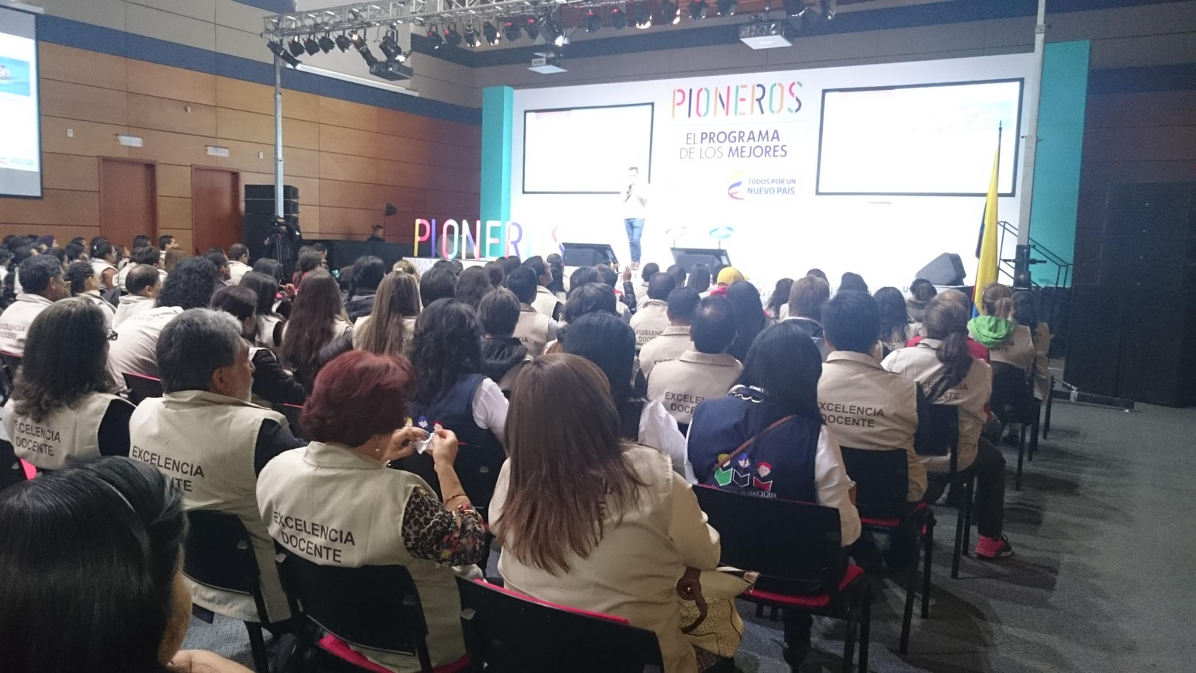 Se realizó en Boyacá programa 'Pioneros' dirigido a los mejores docentes