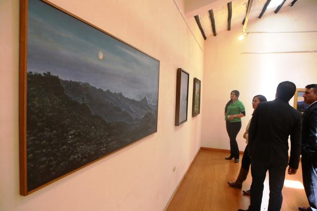 Secretaría de Cultura y Turismo presenta la exposición denominada 'Paisaje al aire libre'
