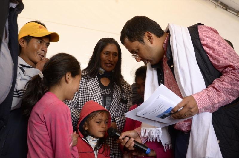 Gobierno nacional entregó 100 casas gratis para la comunidad aquitanense