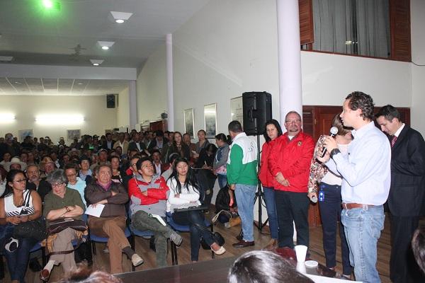 Conversatorio sobre acueductos rurales se adelantó en la alcaldía de Tunja
