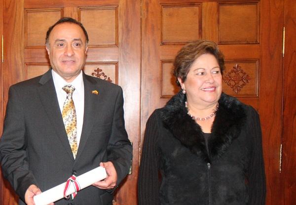 Gobernación exaltó a embajador de los Emiratos Árabes Unidos en Colombia
