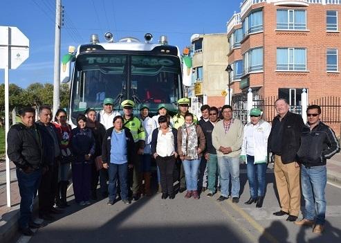 Instituto de Tránsito de Boyacá lanzó campaña 'Mi Ruta Segura'
