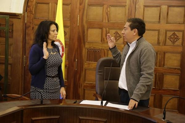 Tomó posesión nueva Secretaria de Hacienda