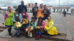 Viaje por toda Colombia  en el Festival Internacional de la Cultura