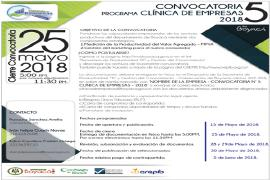 Atención sector empresarial, este 25 de mayo cierra convocatoria N°5 de Clínica de Empresas