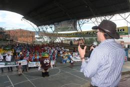 Comenzaron los primeros juegos regionales del Cacao del Occidente de Boyacá en Pauna