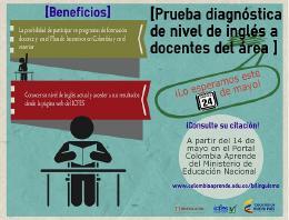 Lista de docentes de Boyacá que presentarán prueba diagnóstica de inglés el 24 de mayo