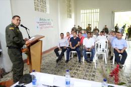 """""""Construiremos el Fuerte de Carabineros en el menor tiempo posible"""": General Guatibonza"""