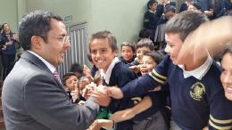 Gobernación de Boyacá entregó predios al Instituto Técnico Rafael Reyes de Duitama