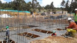 Avanza la construcción del proyecto de vivienda - urbanización San Jerónimo