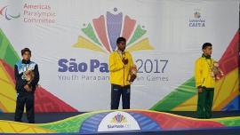 Boyacá brilló en los Parapanamericanos Juveniles de Brasil