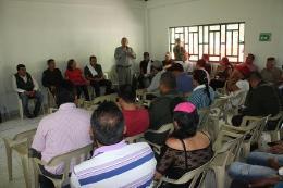 Secretaría de Minas acompaña a juntas directivas para formalización del sector en Quípama
