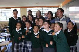 Niños de Paipa le apuestan al Plan de Desarrollo del Departamento