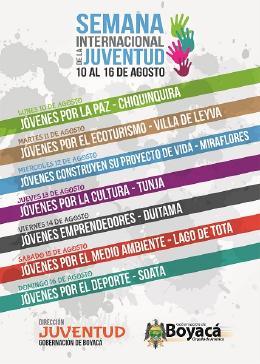 Semana de la juventud se celebrará en siete municipios cabeza de provincia