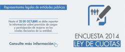 Reporte de Información Ley de Cuotas 2014