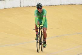 Diego Andrés Peña, del Boyacá es para Vivirla, sufrió una caída en entrenamiento
