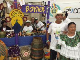Artesanos de Boyacá se toman a Cartagena