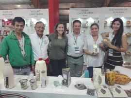 50 contactos internacionales lograron los 30 empresarios que participaron en Agroexpo