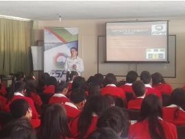 Alumnos de Colegio de Tuta aprendieron sobre gestión integral de residuos sólidos