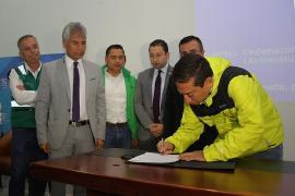 Inician obras de mejoramiento vial en Duitama