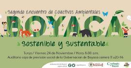 Gobernación lidera el Segundo Encuentro de Colectivos Ambientales