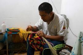 Gobernación de Boyacá trabaja con artesanos de Guacamayas