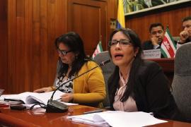 Asamblea avaló trabajo realizado por la Secretaría de Desarrollo Humano