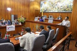 Aplazada sesión descentralizada de la Asamblea prevista para el miércoles 19 en Jenesano