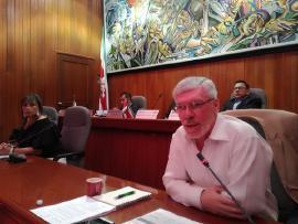 Secretario de Educación presentó informe de gestión ante los diputados a la Asamblea