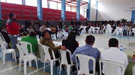 Gobierno departamental presenta informe de Salud a la comunidad de Gutiérrez