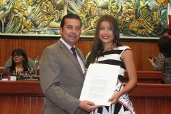 Asamblea exalta a candidata al Reinado Nacional de la Belleza a Cartagena por Boyacá